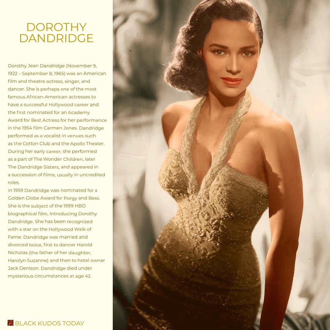 Dorothy dandridge hollywood's first african
