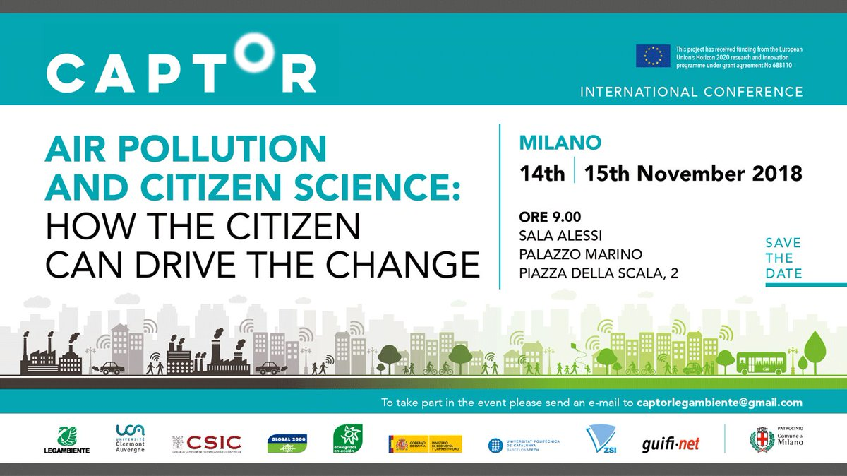 test Twitter Media - Looking forward to our discussions on #AirQuality and #citizenscience in #Milano next week @captor_air @hack_air @luftdaten https://t.co/EbTIV9J2GG