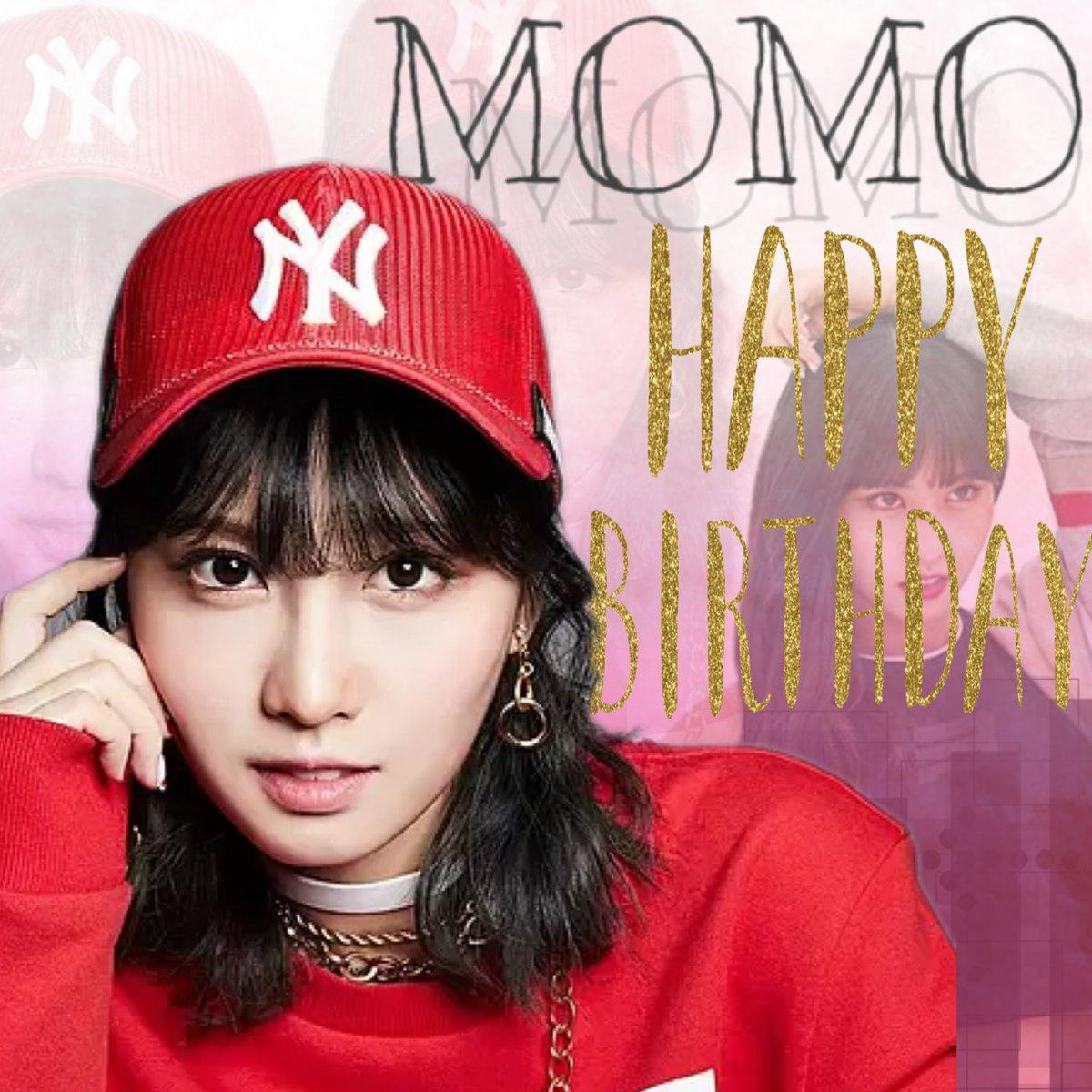 11月9日はモモちゃんの誕生日〜🎉🎉 おめでとうございます〜🎊 ダンスがめちゃ上手くて、大食いなモモちゃんが大好きだー!!! これからもTWICEで頑張って下さい😊 ・ ・ ・ #モモセンイル  #いいねしたONCEさんフォロー