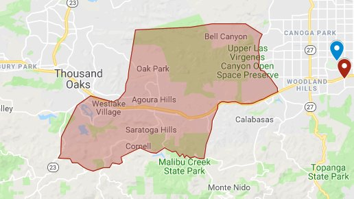 Hills Fire Map.City Of Calabasas On Twitter Updated Mandatory Evacuation Map
