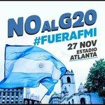 #NoAlG20 Twitter Photo