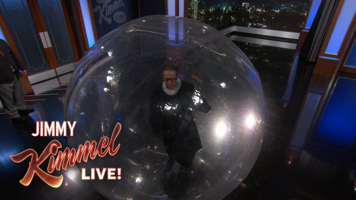 Protecting Justice Ginsburg has never been more vital... #RuthBaderGinsbubble