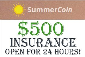 Image for SUMMER COIN Insurance open till next 24 HOURS.