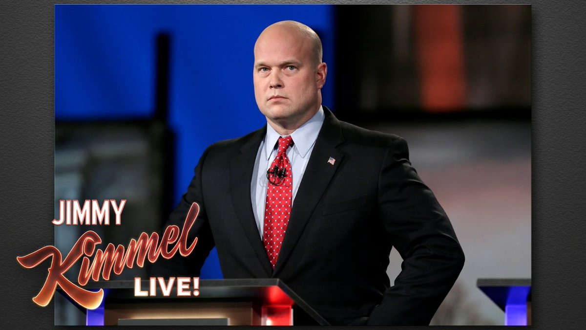 Thanos is our new Attorney General... @MattWhitaker46 #SessionsFired