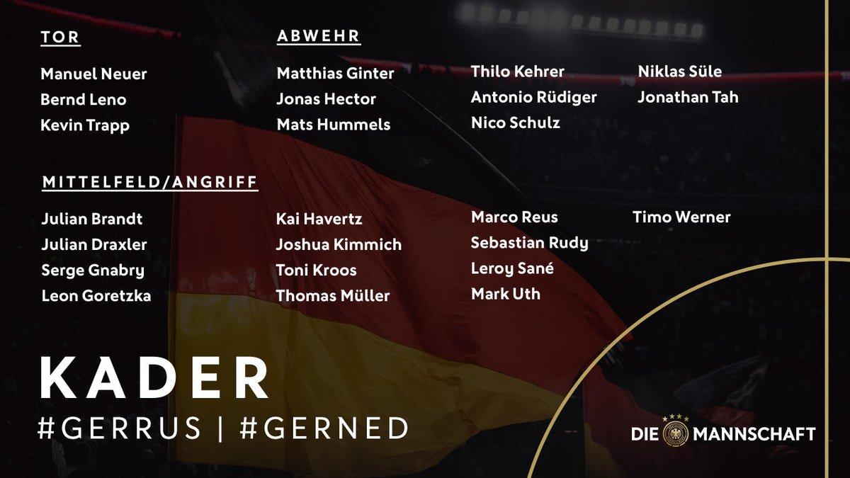 Liste Allemagne