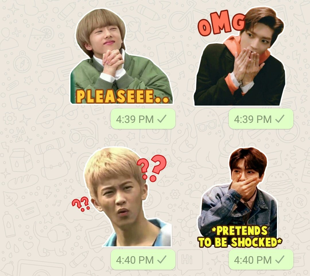 S On Twitter Nct Whatsapp Stickers By Me A Thread Feel Free