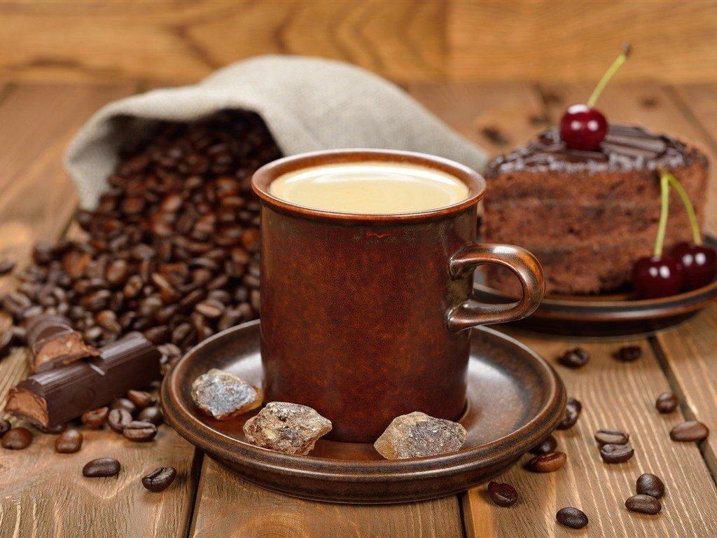 Фото и открытка с кофе, днем милиции