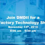 Image for the Tweet beginning: Registration for the @DMDII_ Future