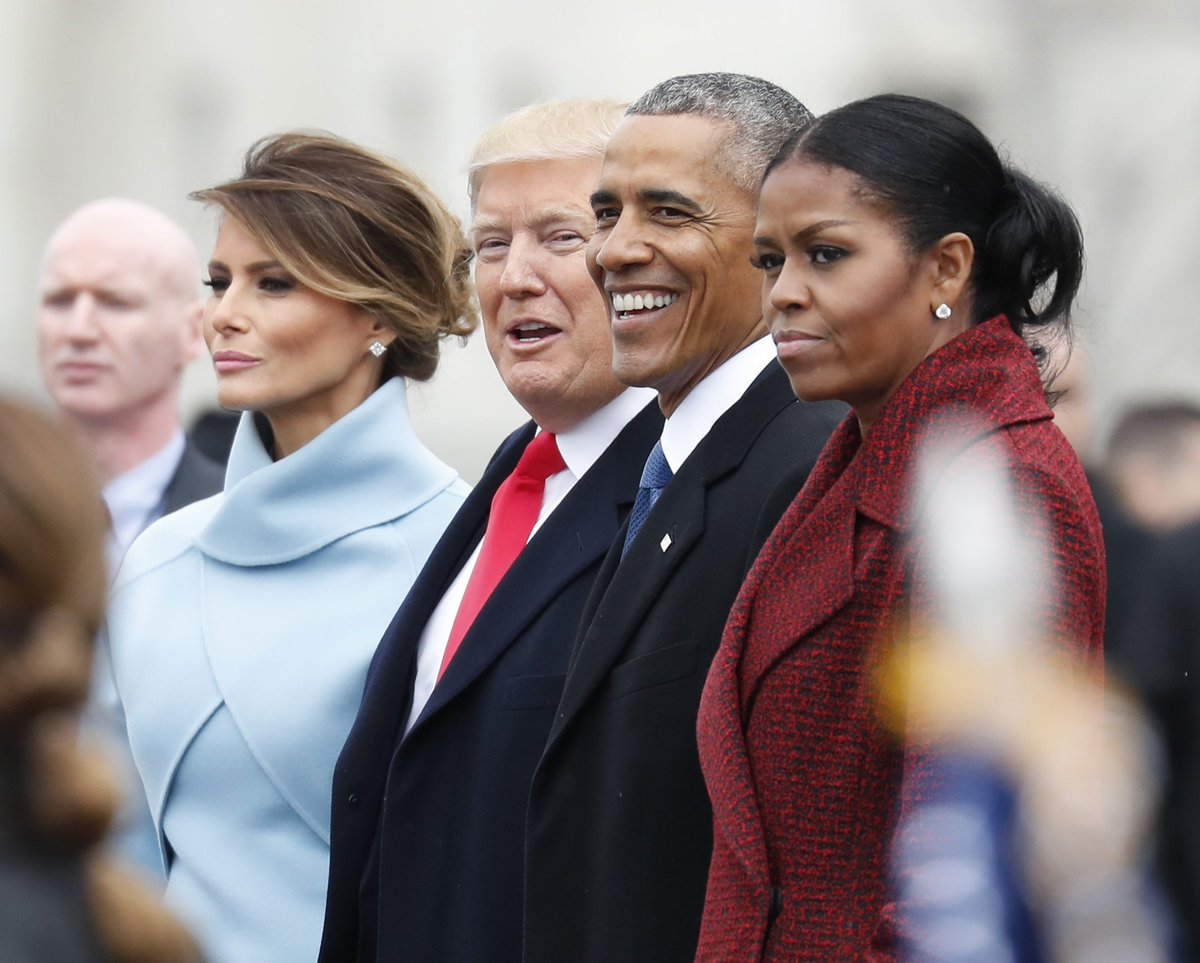 Michelle Obama says she will never forgive President Trump for spreading the 'birther' conspiracy about her husband, in excerpts from her memoir published by @washingtonpost. She says it exposed 'underlying bigotry and xenophobia' and put her family in danger.