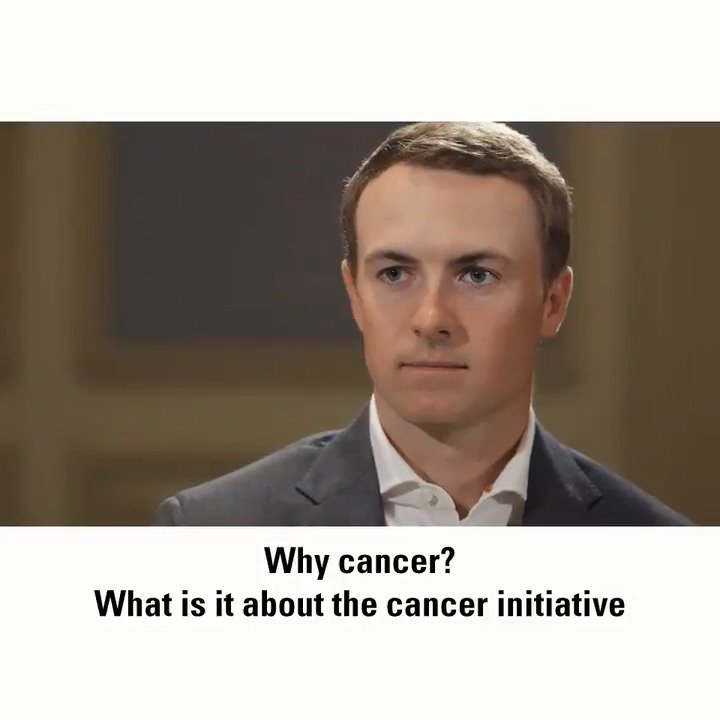 Dallas Living Legend honoree @JordanSpieth wants to be considered a legend in something other than sports. Before the event, which raised $1.3M for MD Anderson, he sat down with @MarkRolfingGC to explain why. #endcancer