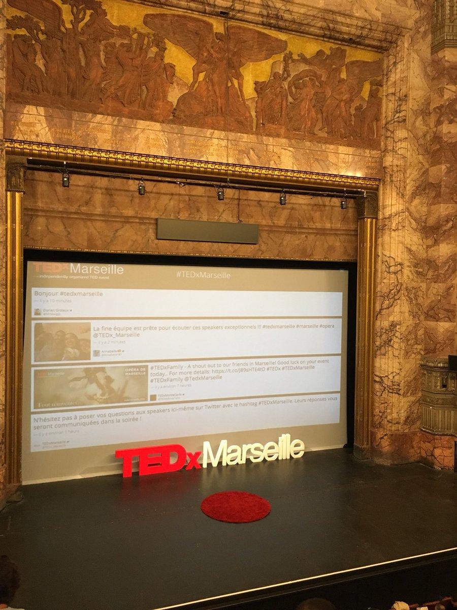 RT @SeshatLibrary: @TEDx_Marseille Prêts à #toutreinventer #tedxmarseille https://t.co/MXpKyHE4dx