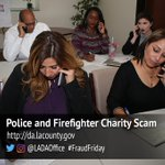Image for the Tweet beginning: Investigate Police, Firefighter Charities Before