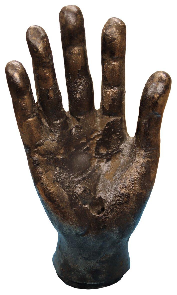 Bronze hand, Vindolanda, England
