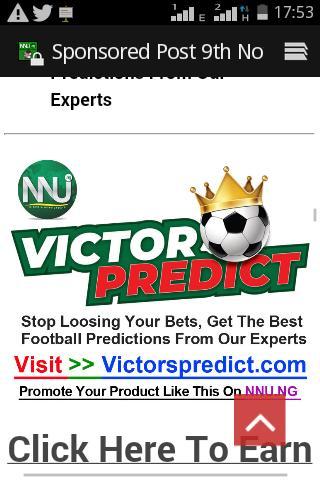 victorpredict hashtag on Twitter