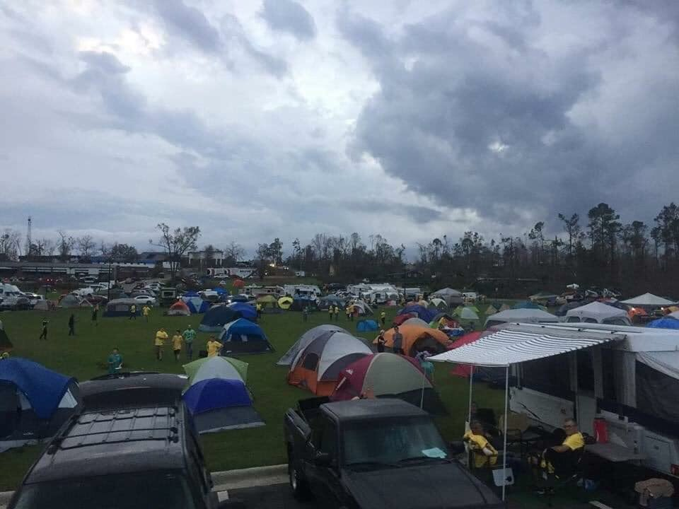 Marco -if only you were as concerned about your #HurricaneMichael victims and their wellbeing as you are about spreading false information about #FloridaRecount2018 Your #panhandle residents -might not be living in tent cities.<br>http://pic.twitter.com/8DUeZqWl2c