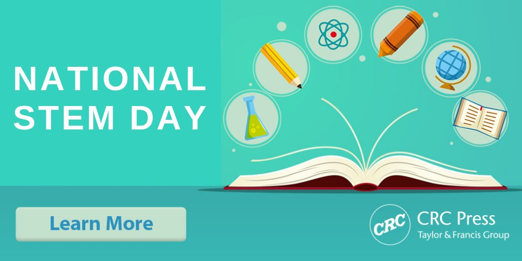 CRC Press's photo on #NationalSTEMDay