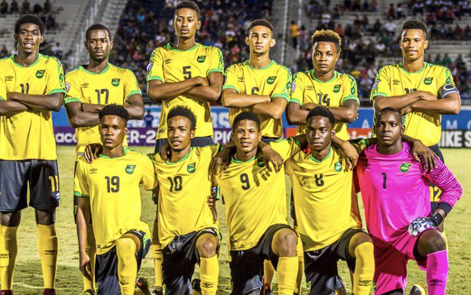 Our U-20 #ReggaeBoyz continue in top form! 🇯🇲🇯🇲 They defeated Aruba 7-1 last night to remain unbeaten in the 2018 CONCACAF Under-20 Championships. Watch their next match LIVE on Saturday on Flow Sports1 starting at 3pm. 📸: Foto