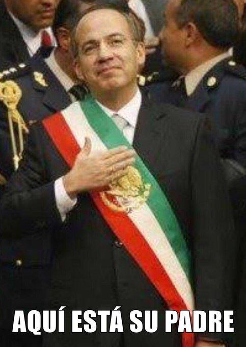 Quedó demostrado quién es y seguirá siendo Felipe Calderón #BuenViernes 😎 Photo