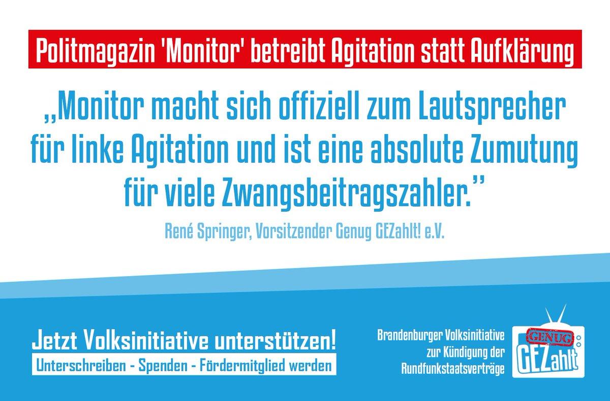 Genug Gezahlt On Twitter Pm Politmagazin Monitor Betreibt