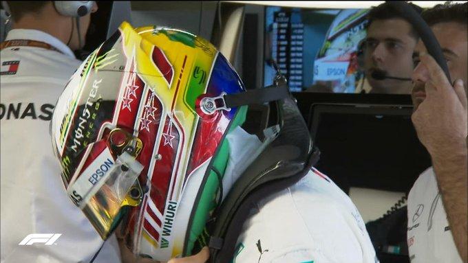 Fresh lid for @ count the stars 🔎 ⭐️⭐️⭐️⭐️⭐️ #BrazilGP 🇧🇷 #F1 Photo