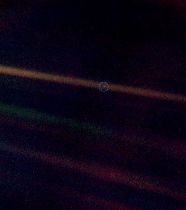 Happy Birthday Carl Sagan!    Those of us on this pale blue dot miss you!