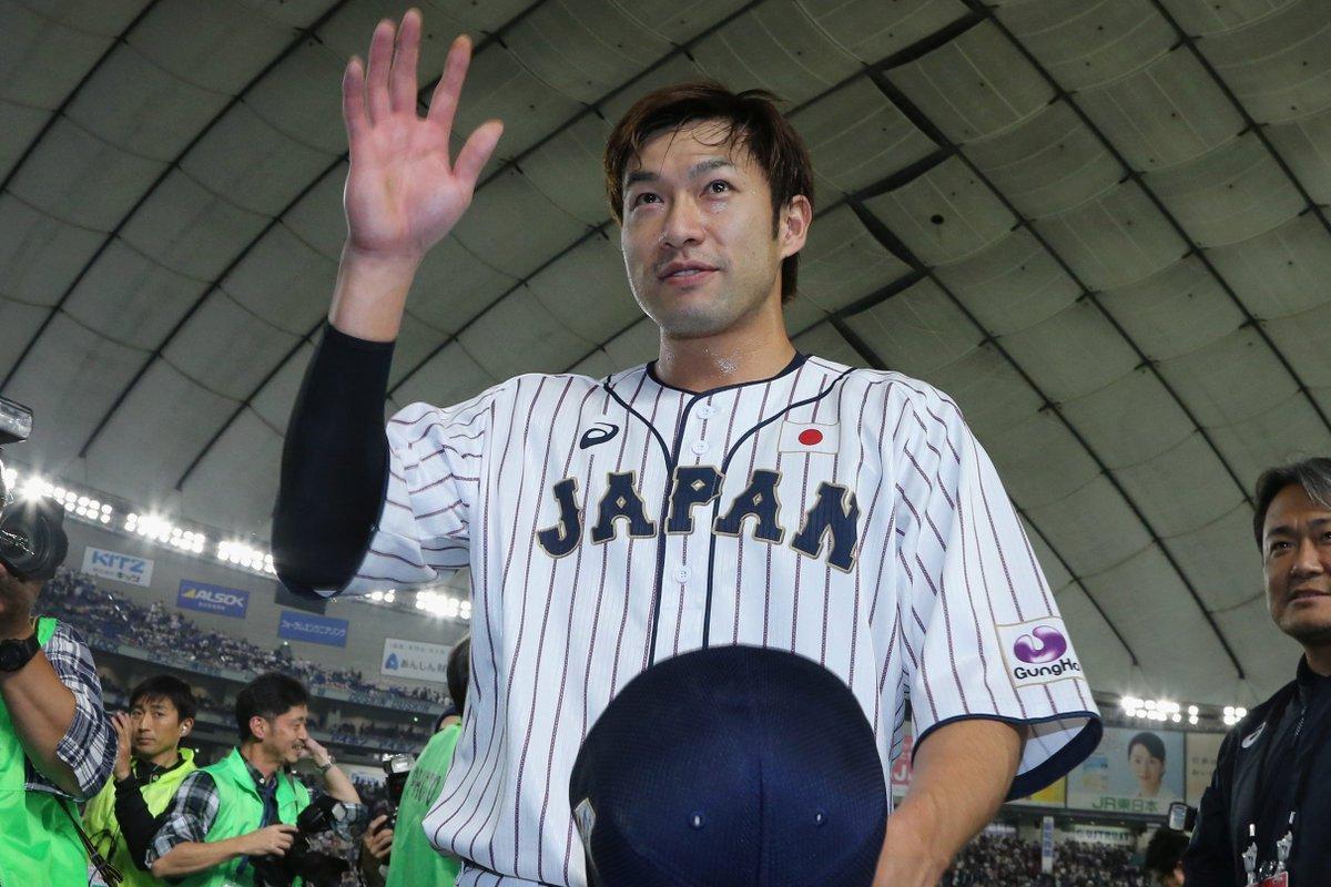 今日のヒーローは、9回裏2死1塁から劇的逆転サヨナラ本塁打を放った柳田選手。#侍ジャパン #柳田悠岐 #福岡ソフトバンクホークス