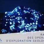 Image for the Tweet beginning: Rapport des opérations d'exploration géologiques