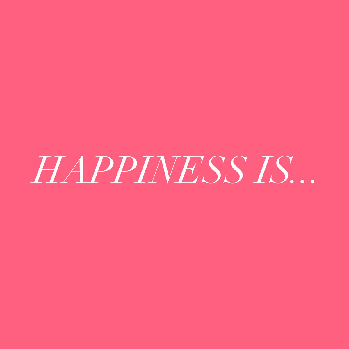 What does happiness mean to you? Share it with us!! Comment down below or make your own post and tag us. We would LOVE to hear from you!!☺️