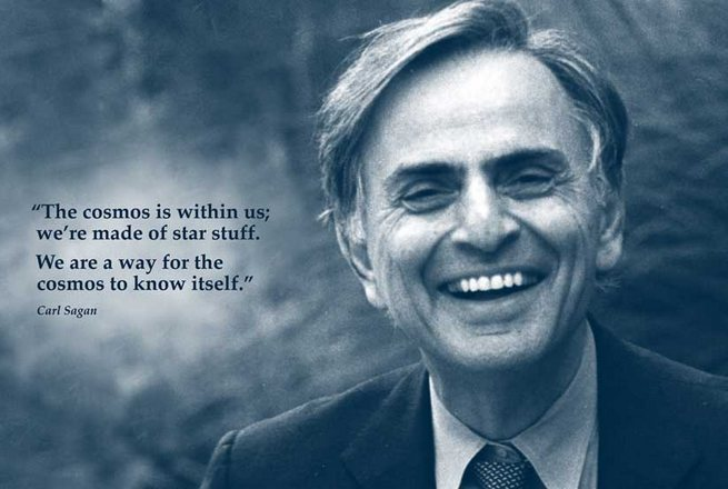 Happy birthday, Carl Sagan. Thank you for inspiring curiosity and love of the universe in so many.