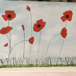 This beautiful painting was done by one of our Year 4 pupils Jasmine for Remembrance Day #RemembranceDay2018 #Armistice100 #lestweforget