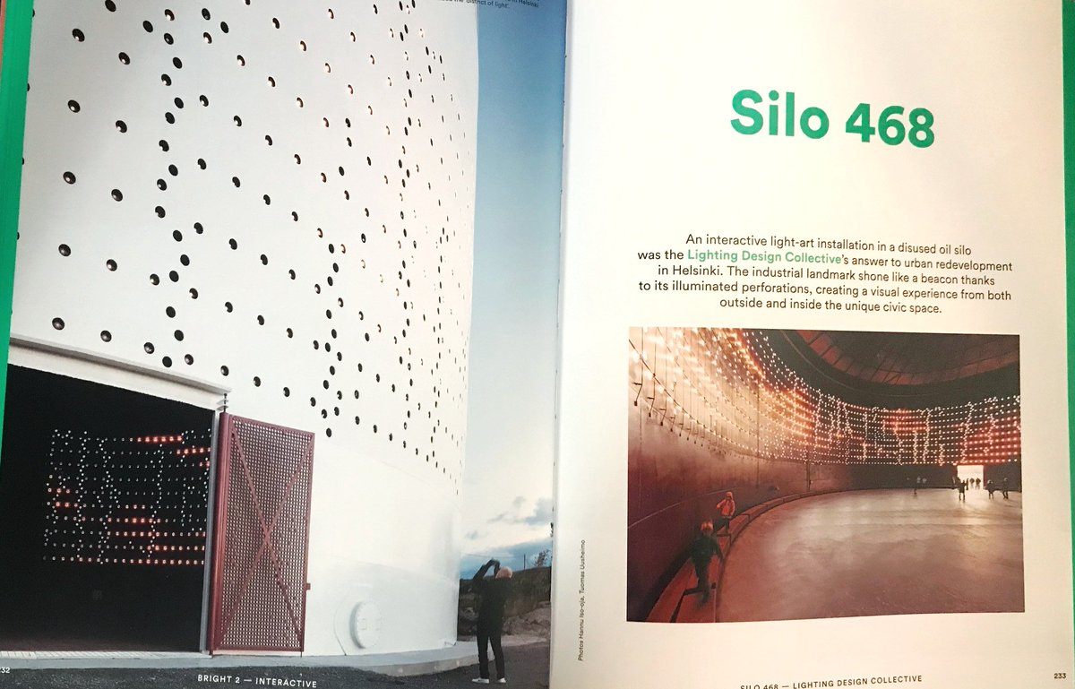 Al design awards silo helsinki architectural lighting