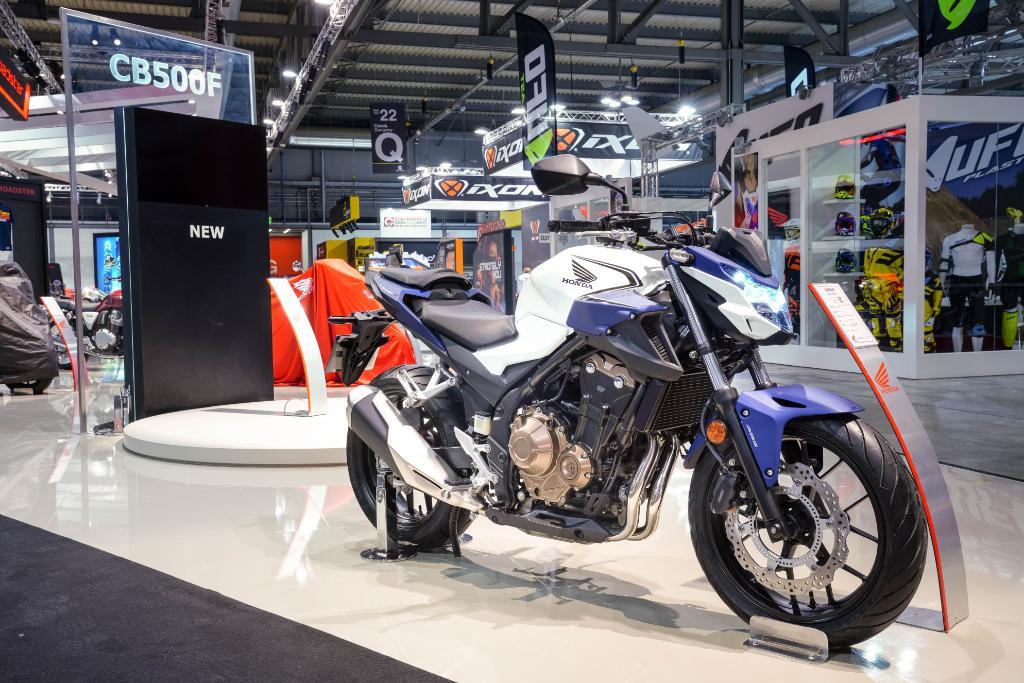 Honda Moto France On Twitter Eicma2018 Nouvelle Honda Cb500f