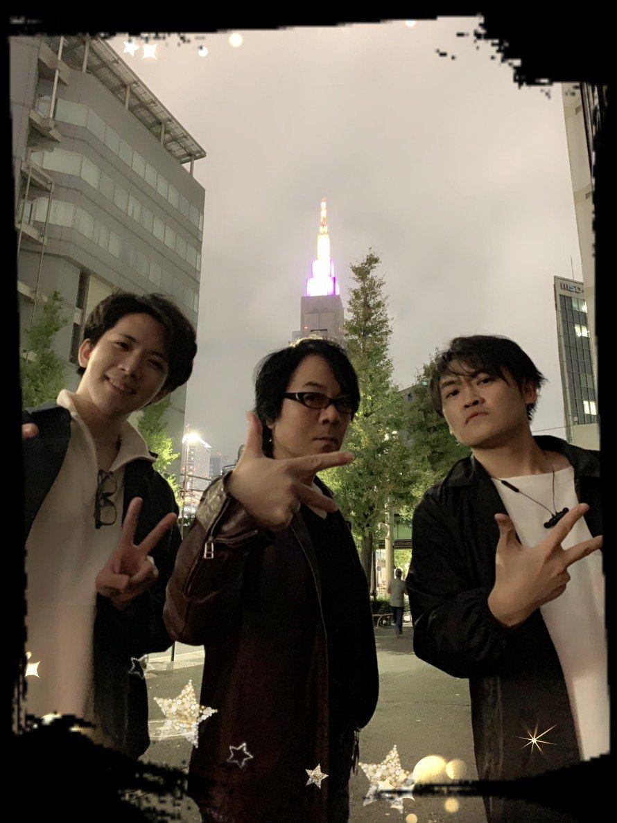 【速水奨】Zepp DiverCity TOKYOに向けて、3人が集結❗我らは麻天狼🐺ライブまで待てんぞう❗🙌#ヒプマイ #麻天狼