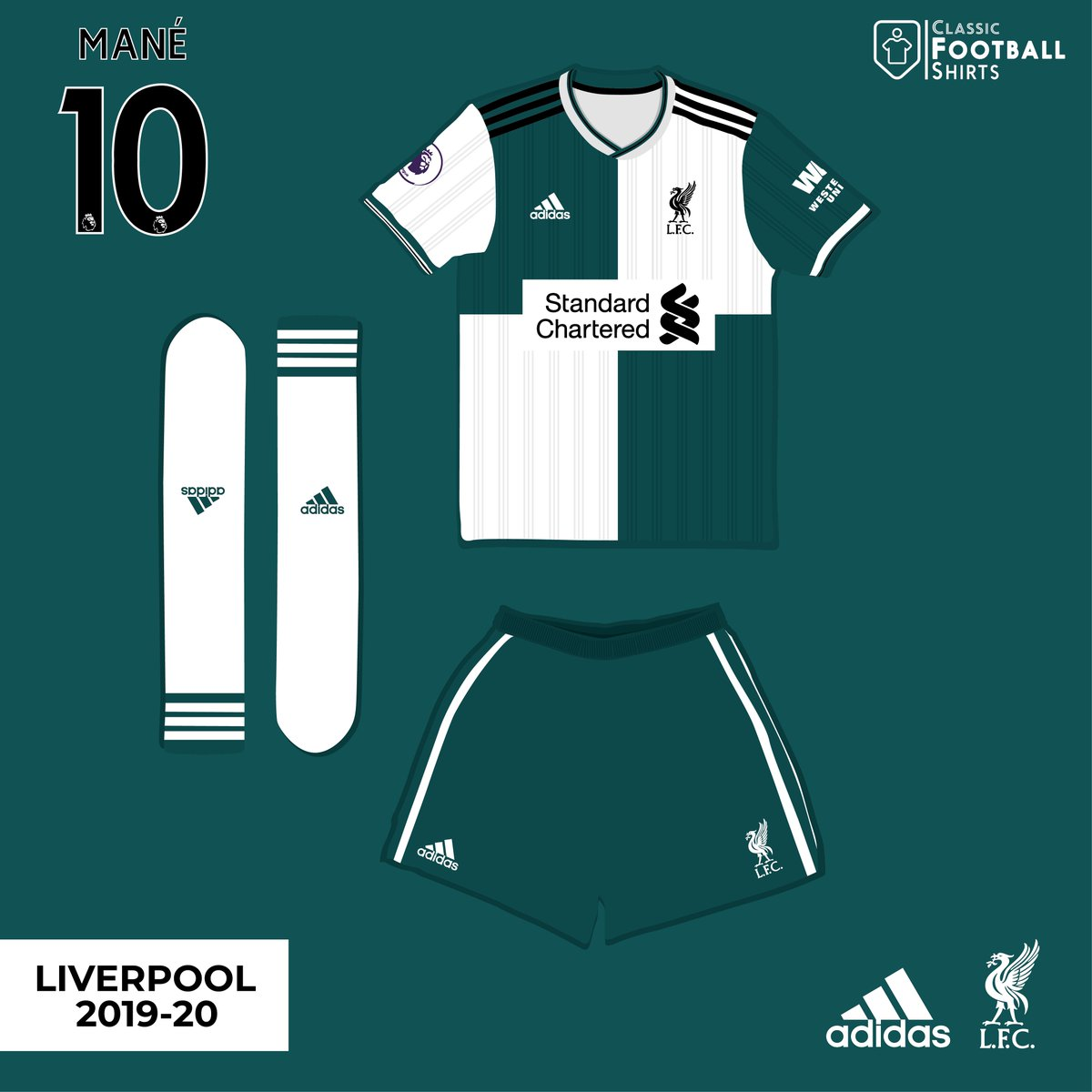 ee82f779 ... Adidas away shirt If rumours are true Liverpool could be heading back  to Adidas. Would you like to see this at Old Trafford next season?