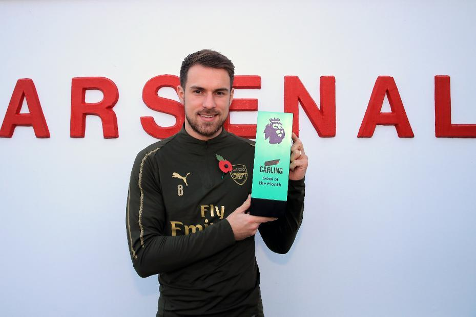 A moment of magic 🧙  The October @carling Goal of the Month goes to @aaronramsey: https://t.co/TQ3SylidwY  #PLAwards