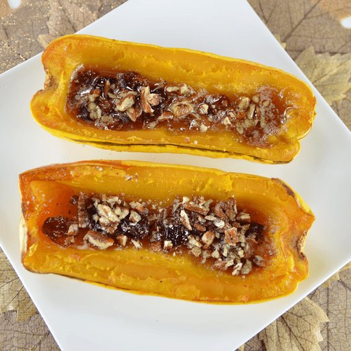 A sweet and hearty dish, baked delicata squash tastes more like a dessert! https://t.co/YNCwP4nz3M https://t.co/sGMcTzvZ4e