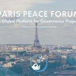 #ParisPeaceForum Twitter Photo