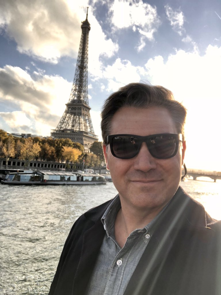 Greetings from Paris where we are on the ground for Trump's trip to France. #1A