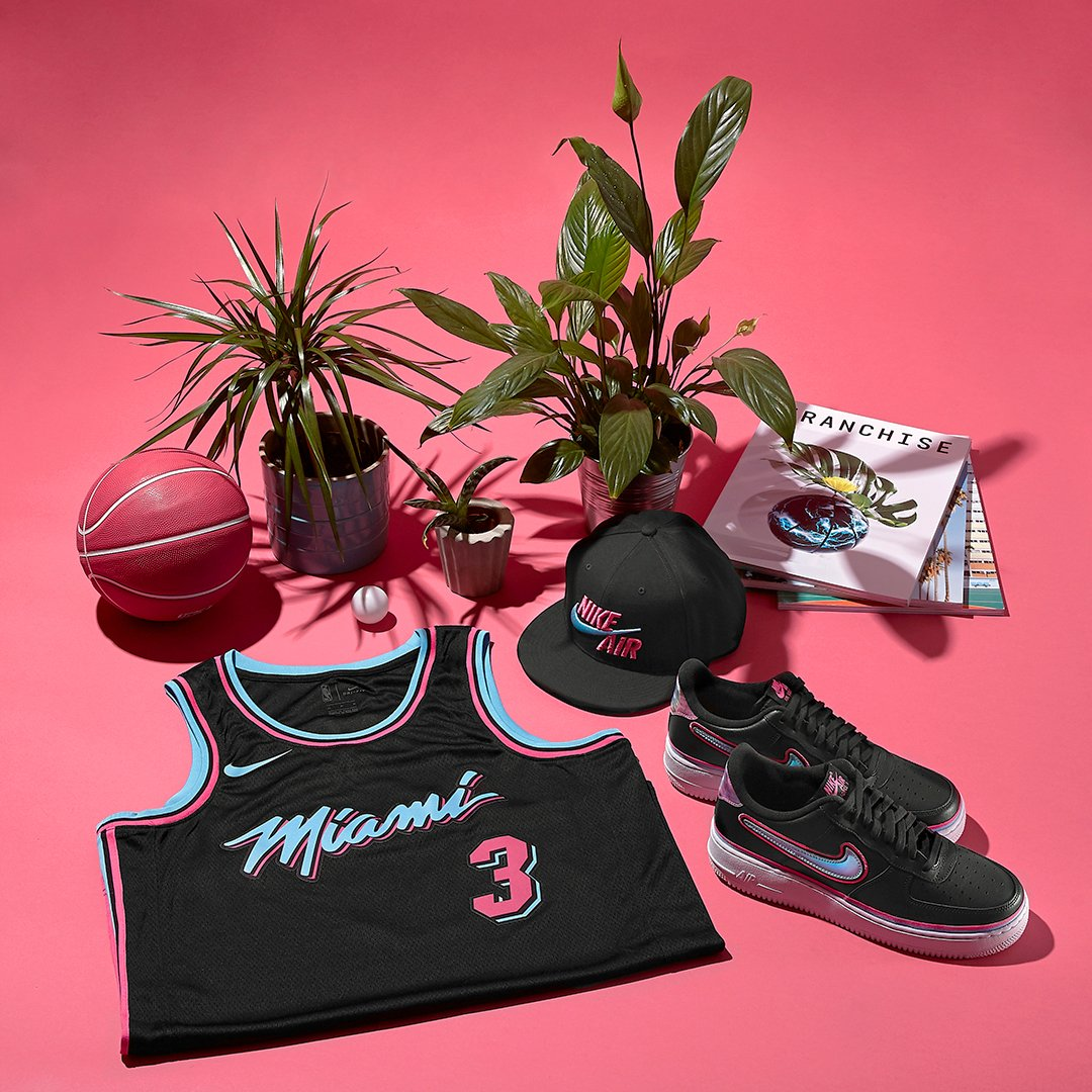 Miami vibes 🌴 Rep Miami heat in the Nike NBA Air Force 1 https ... 1255d4479048