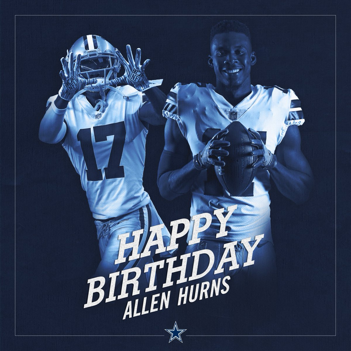 #CowboysNation, join us in wishing @A1hurns a happy birthday!