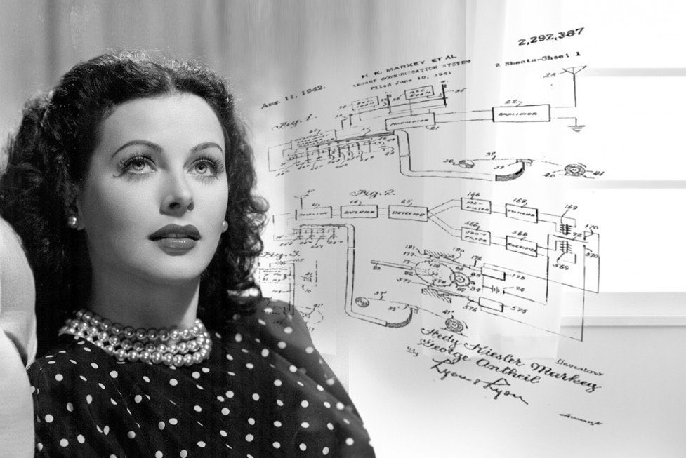 Happy birthday, Hedy Lamarr, actress and #inventor of the spread-spectrum communication tech behind WiFi, Bluetooth and GPS, born #OnThisDay in 1914  https://t.co/2MuFeEoGoS