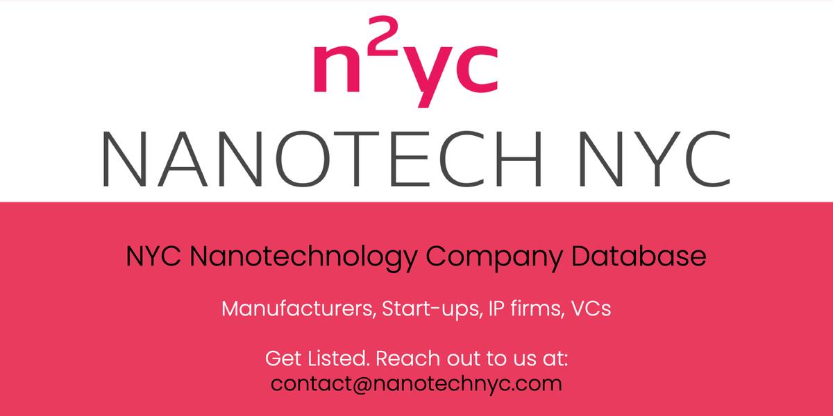 Nanotech NYC on Twitter: