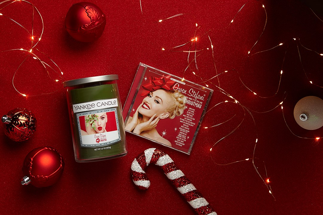 Gwen Stefani Christmas Cd.Yankee Candle On Twitter We Re Celebrating The Holidays
