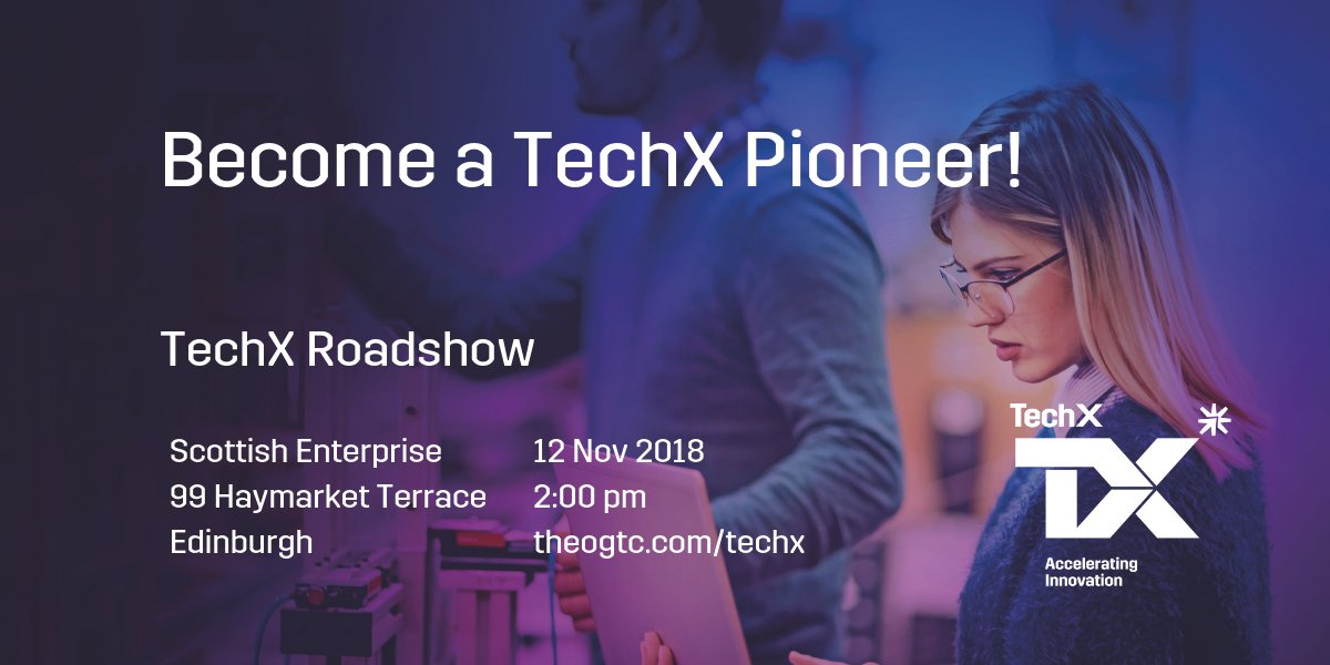 Meet Us At The Scottish Enterprise Office To Find Out How You Can Become A Pioneer On Our Technology Accelerator Programme