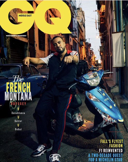 Happy 34th birthday to French Montana! Check out these shoots he did for GQ Middle East!