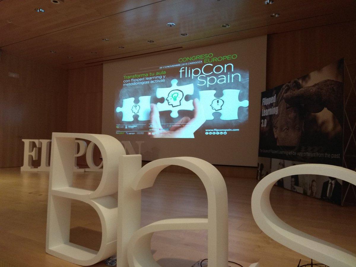 RT @AdditioApp: Ya estamos en el #FlipConSpain18 preparados para conocer a #SuperTeachers innovadores @fundacionbias https://t.co/TzMSIxbN18