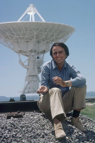 Happy Birthday Carl Sagan.  Your eloquence in missed.