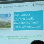 Image for the Tweet beginning: Terveiset Saksan biohiiliyhdistyksen konferessista!