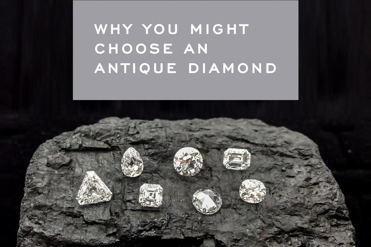 Antique diamonds are one ethical choice for your engagement ring. Learn more about them here: