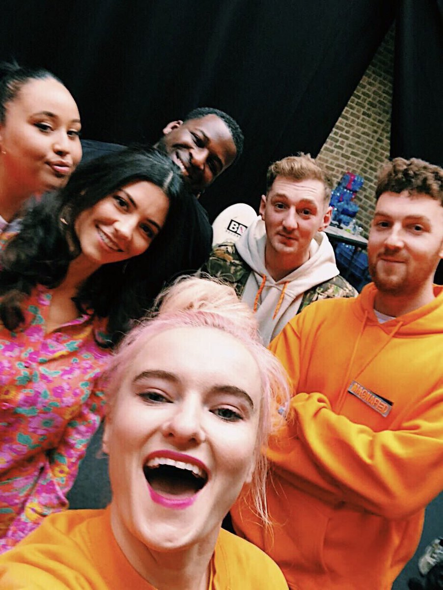 Thank you for having us @bbcradio2! Was such a joy to perform with @cleanbandit.